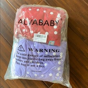 Cloth Diapers ALVABABY - new in package